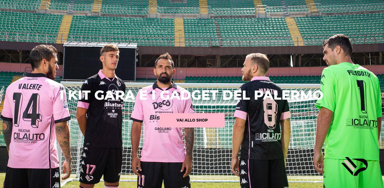 I kit gara e i gadget del Palermo
