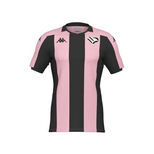 Vertical stripes (three black ones, two pink ones)