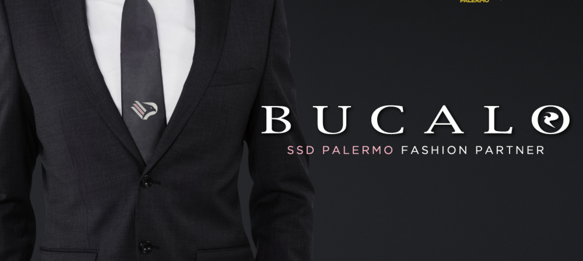 BUCALO È IL NUOVO FASHION PARTNER DEL PALERMO