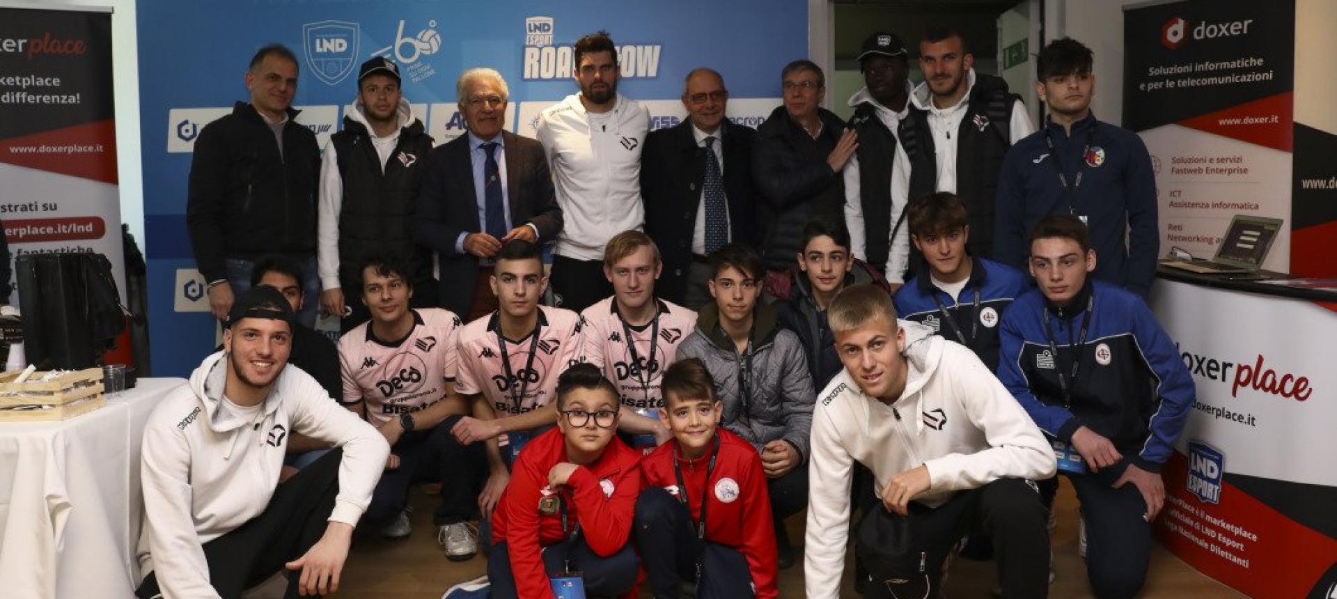 Road Show 2k20: Palermo Esports campione