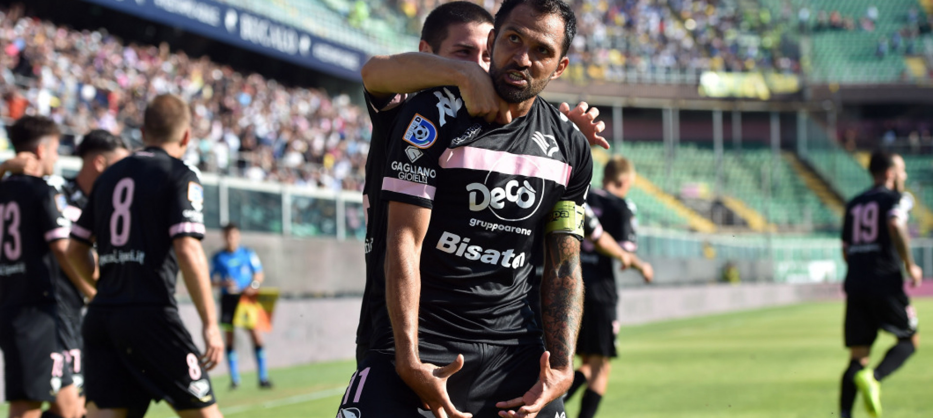 IT IS THE VICTORY OF ALL PEOPLE OF PALERMO. ALL TEAMMATES RENOUNCE THEIR SEASONAL REWARD