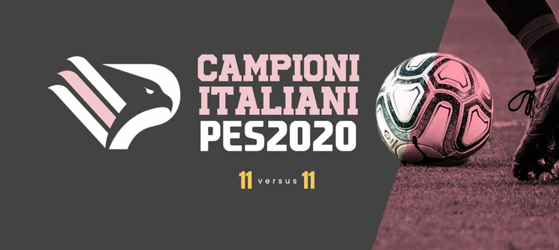 IL PALERMO ESPORTS CAMPIONE D'ITALIA A PES 2020 PRO CLUB