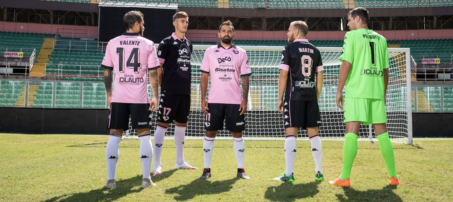 PALERMO REVEALS HOME AND AWAY KIT FROM KAPPA FOR THE 2020-2021 SEASON