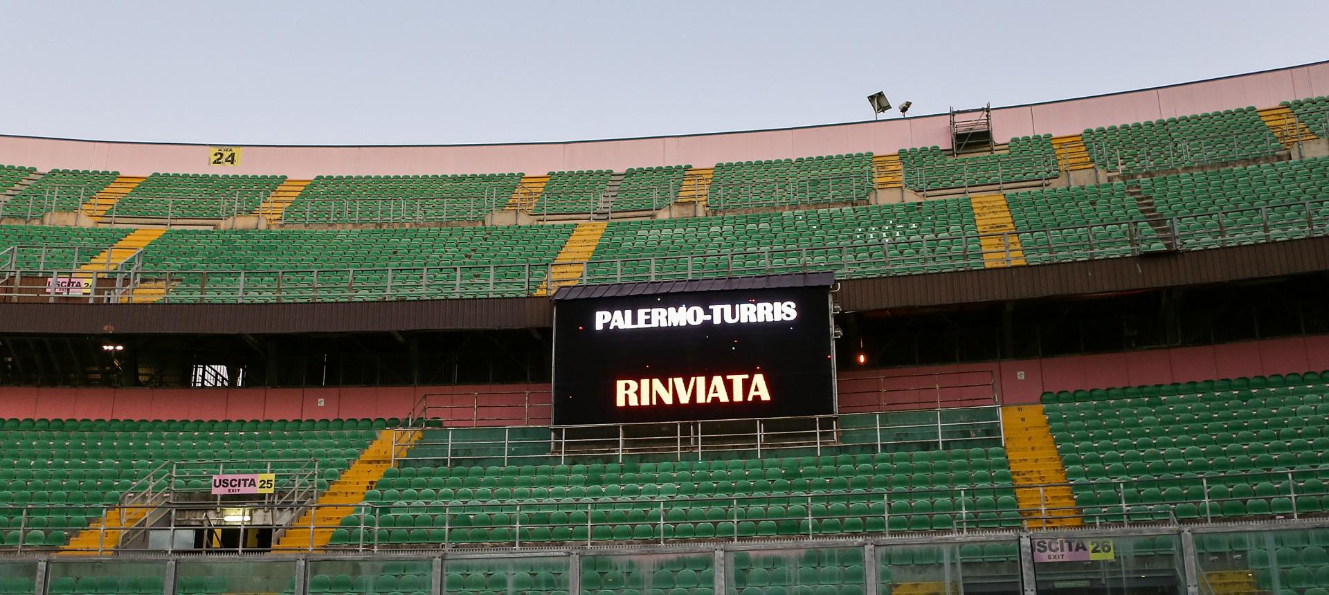 RIMBORSO BIGLIETTI PALERMO-TURRIS