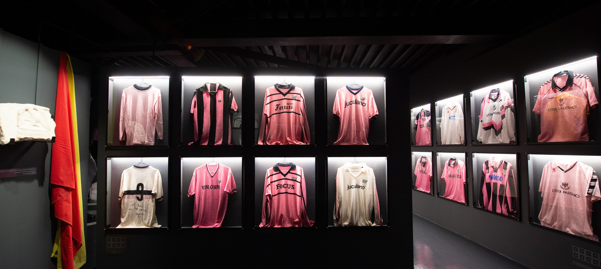 PALERMO FC IS 120 YEARS OLD: HERE IS THE PALERMO MUSEUM AT BARBERA