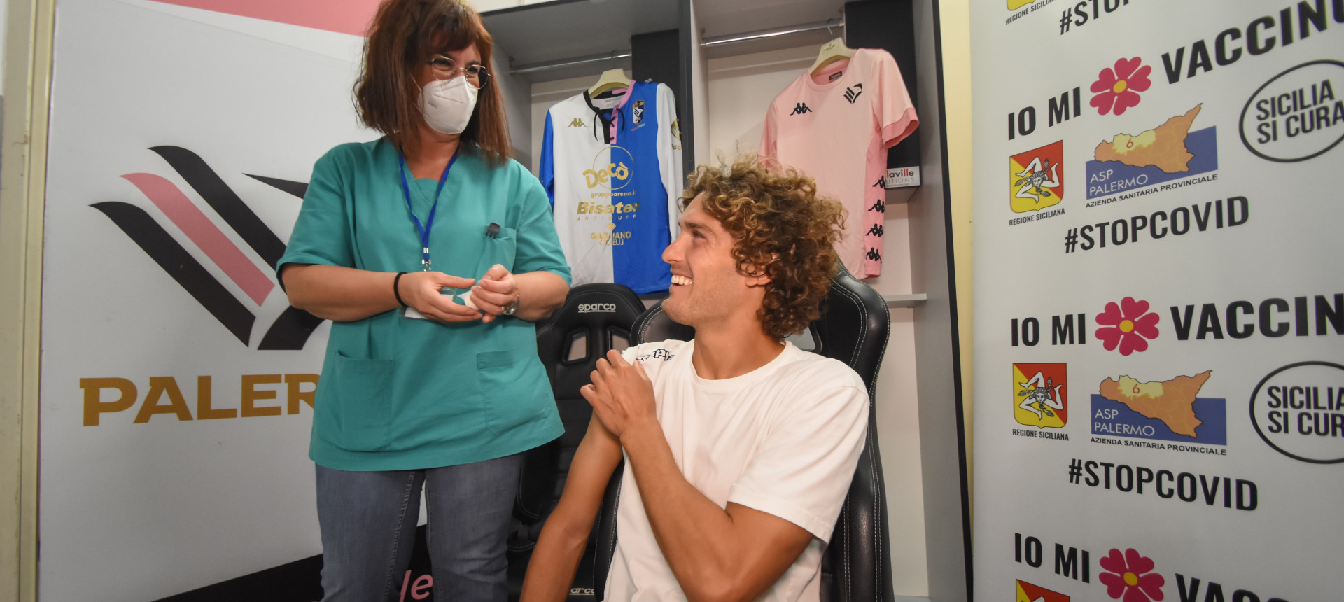 COVID, VACCINE FOR EVERY PALERMO PLAYER IN COLLABORATION WITH ASP