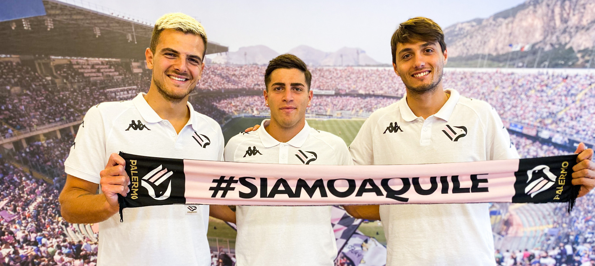 Buttaro, Massolo e Soleri sono rosanero