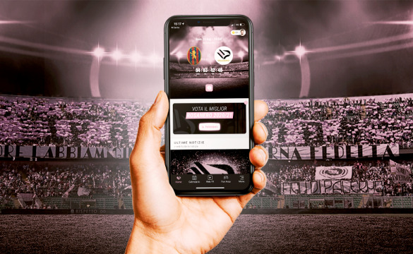 PALERMO'S OFFICIAL APP ARRIVES