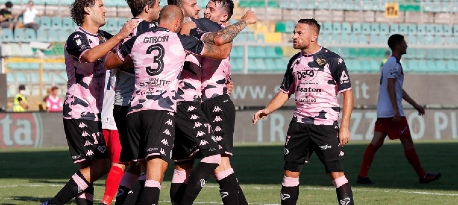 Palermo-Latina: le formazioni ufficiali
