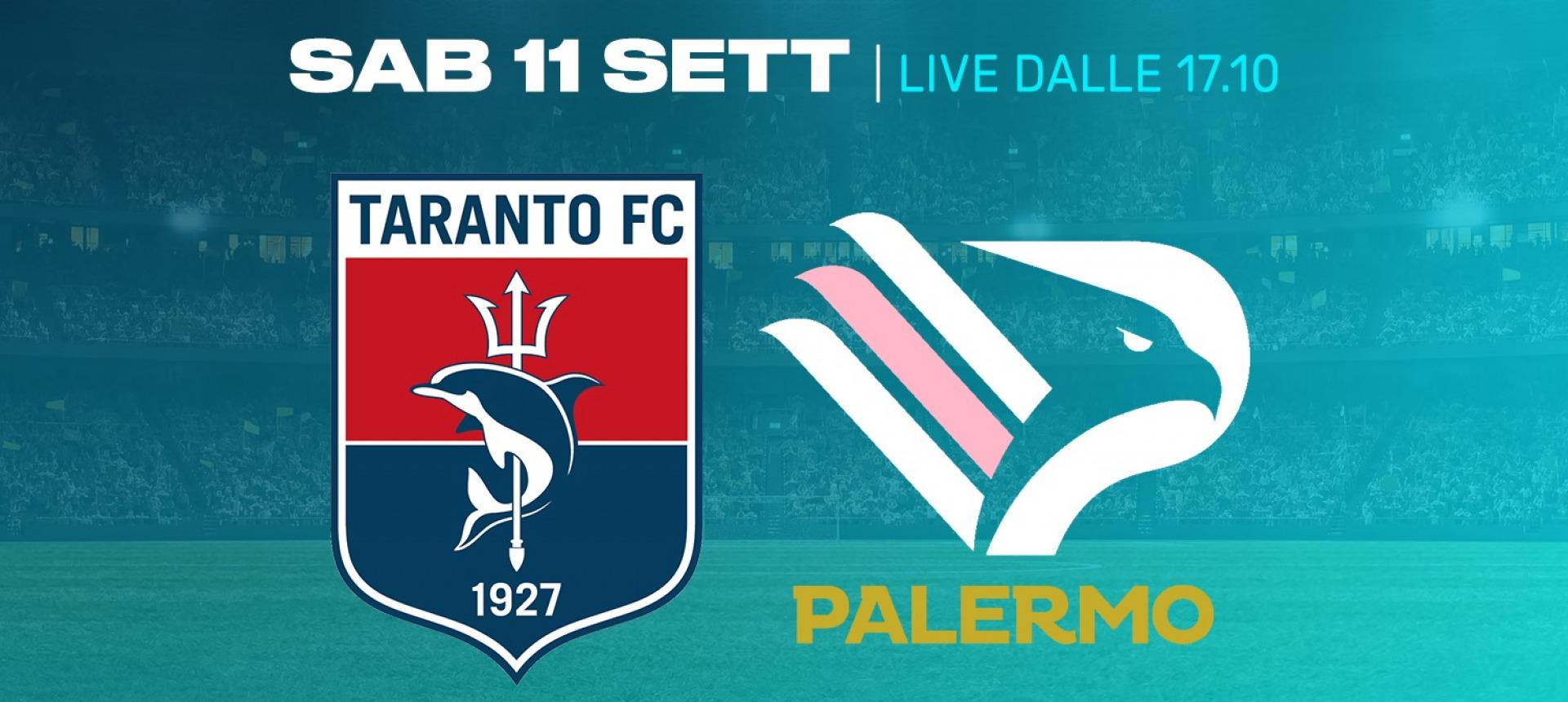 Taranto-Palermo è match of the week di Eleven Sports