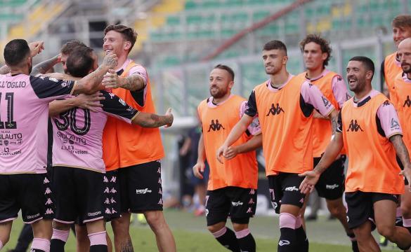 Palermo-Catanzaro: le formazioni ufficiali