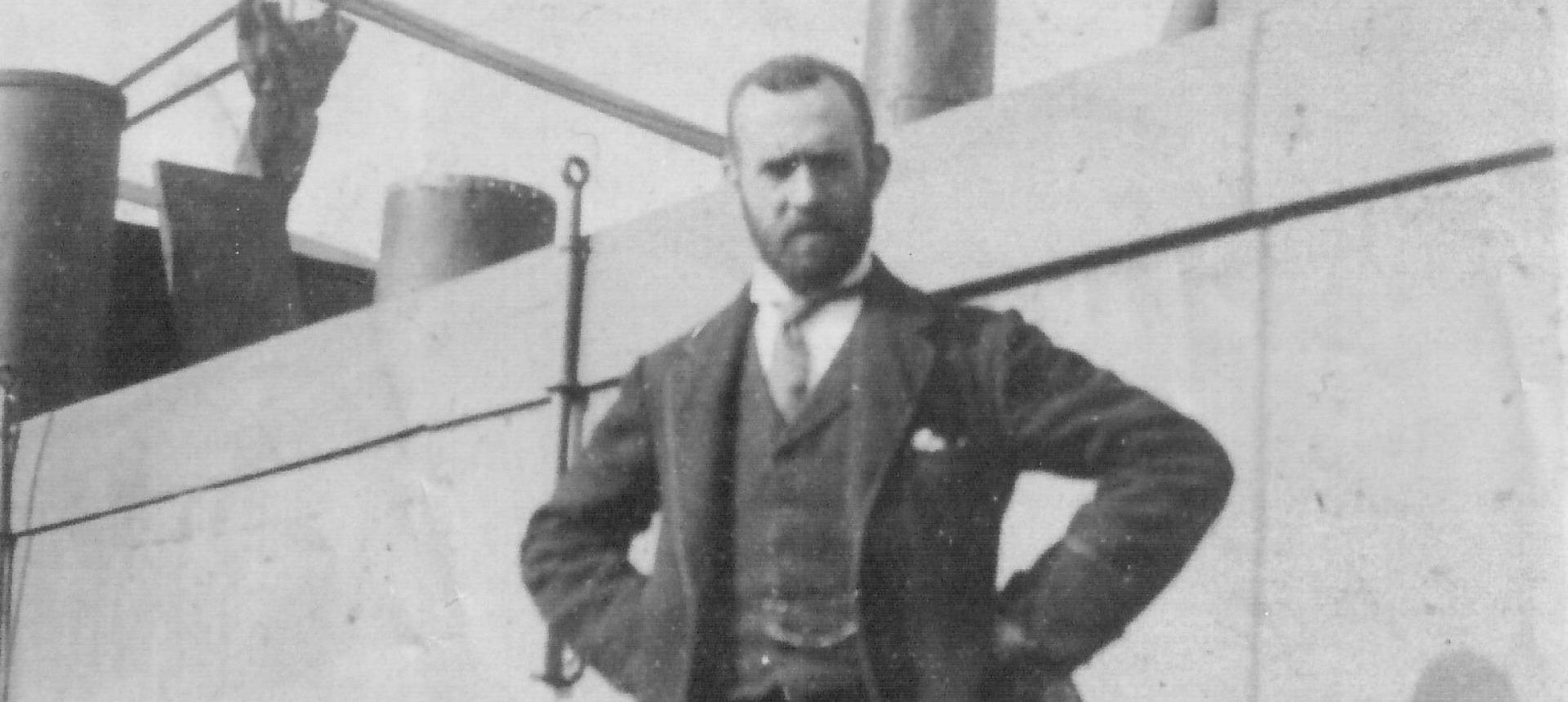 Il ricordo di George Blake, primo capitano della storia del Palermo