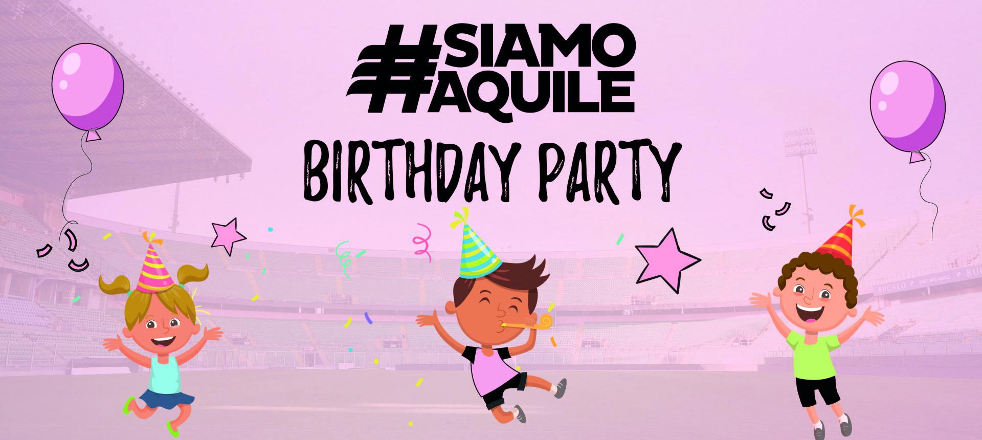 """Siamo Aquile Birthday Party: feste di compleanno al """"Barbera"""" a cura di Palermo Bimbi"""