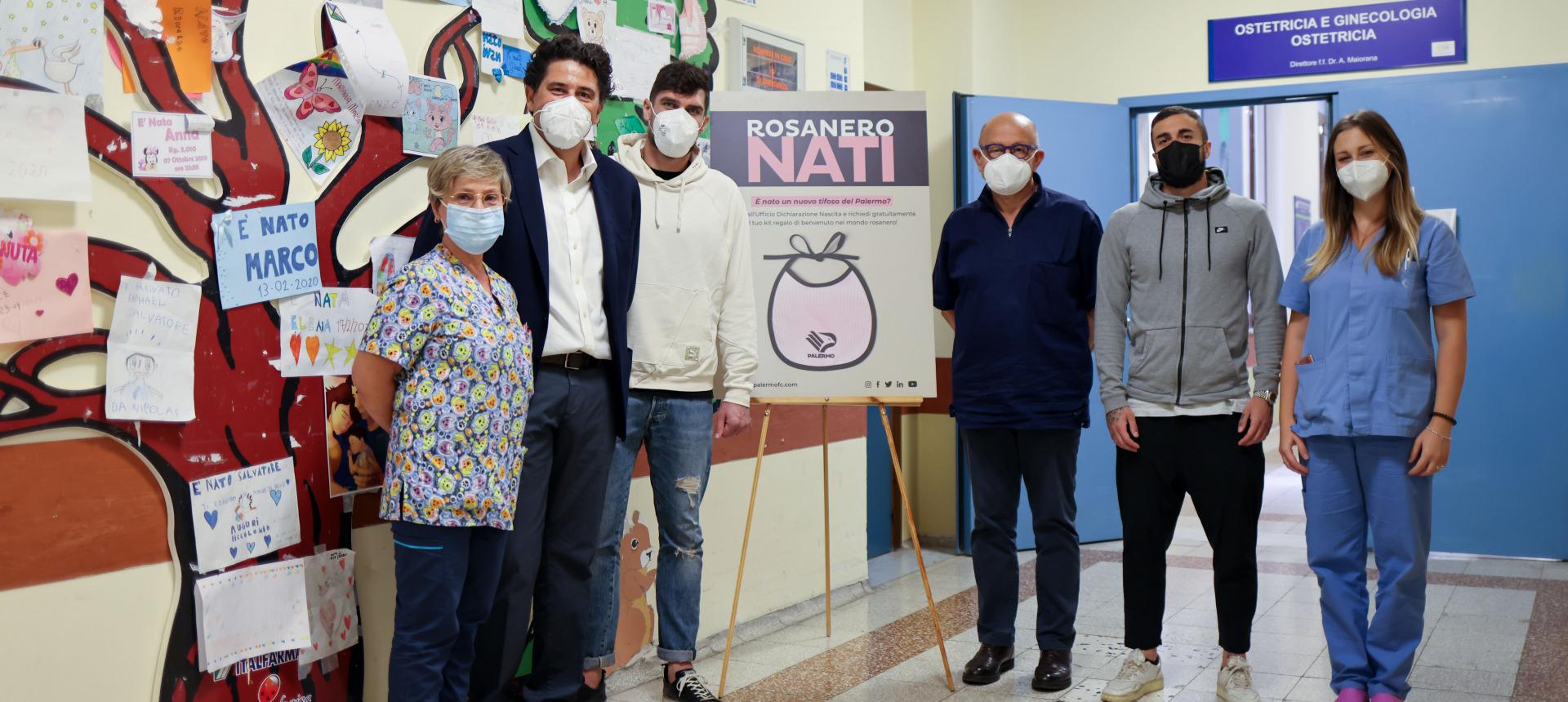 Rosanero Nati: al via anche all'Ospedale Civico per promuovere l'allattamento al seno