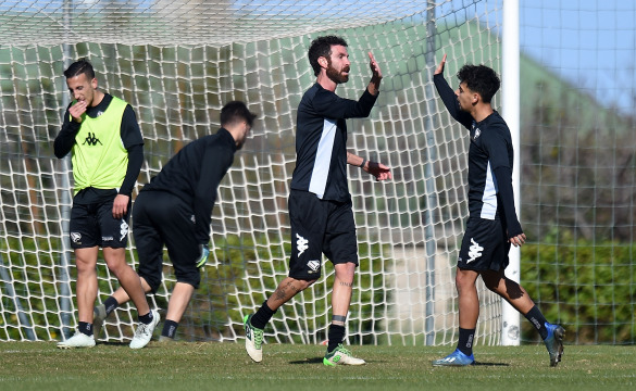 """TRAINING SESSION AT """"TENENTE ONORATO"""": PHOTOGALLERY"""