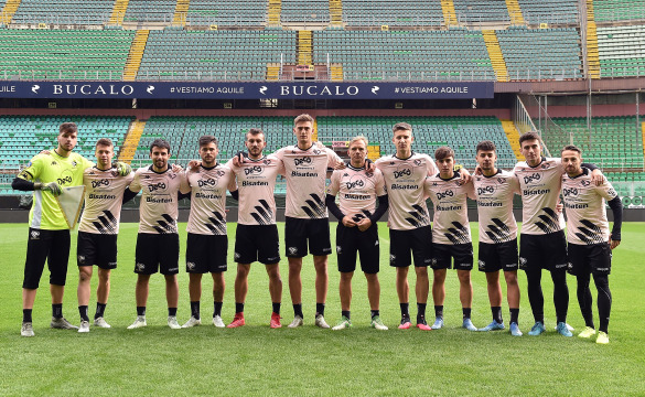 "TRAINING TEST AT ""RENZO BARBERA"" STADIUM: PHOTOGALLERY"