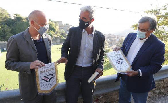 PETRALIA 2020: PRIMO ALLENAMENTO E IL SALUTO DEL SINDACO ORLANDO LA PHOTOGALLERY
