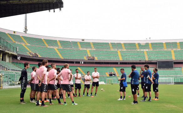 BACK IN PALERMO: FIRST TRAINING AT BARBERA STADIUM