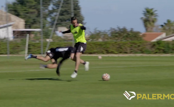 "TRAINING SESSION AT ""TENENTE ONORATO"": VIDEO"