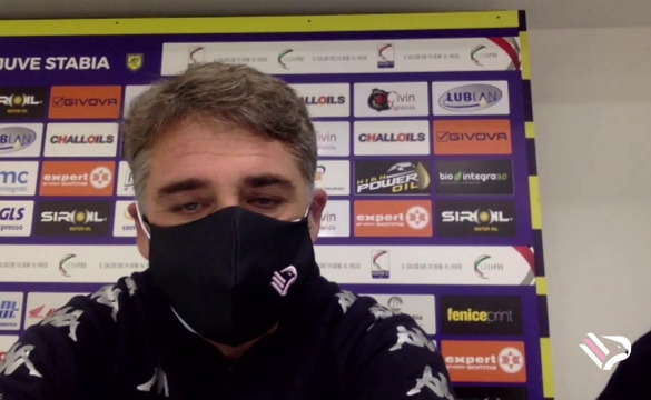 JUVE STABIA-PALERMO LE INTERVISTE IN MIXED ZONE
