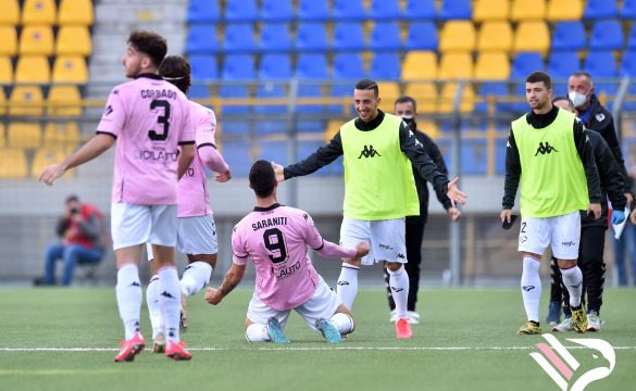 JUVE STABIA-PALERMO 1-2 HIGHLIGHTS