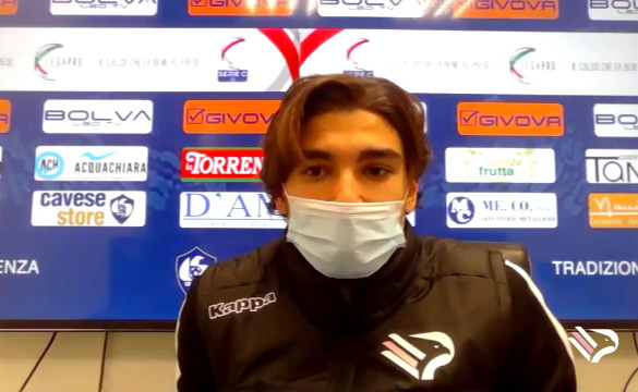 CAVESE-PALERMO LE INTERVISTE IN MIXED ZONE