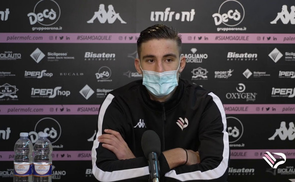 Palermo-Bisceglie Le interviste in mixed zone