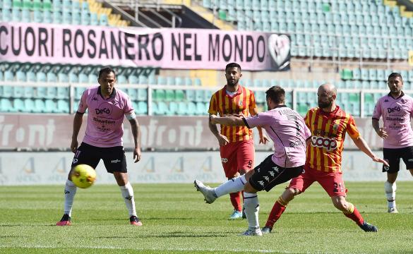 Palermo-Catanzaro 1-2 Highlights
