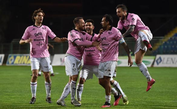 Paganese-Palermo 0-1: highlights
