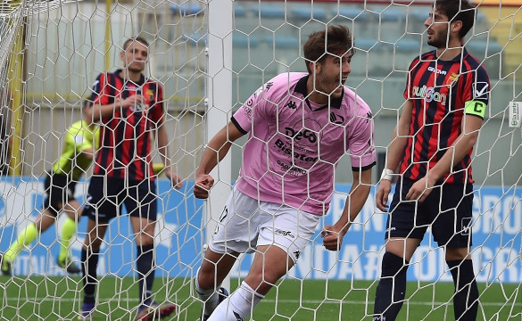 Casertana-Palermo: le interviste in mixed zone