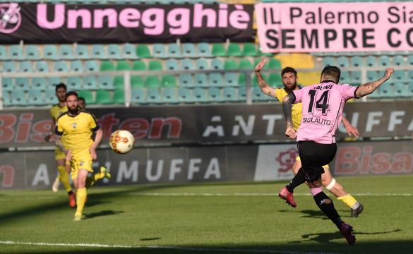 Palermo-Cavese 3-2: gli highlights