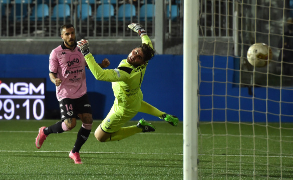 Virtus Francavilla-Palermo 1-3: highlights
