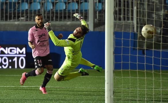 Virtus Francavilla-Palermo 1-3: gli highlights