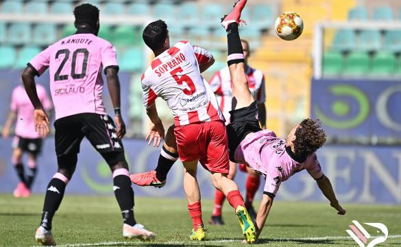 Palermo-Teramo 2-0: gli highlights