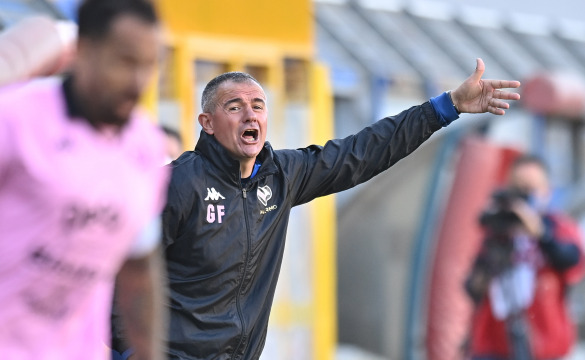 Juve Stabia-Palermo: le interviste in mixed zone