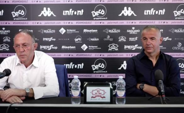 La conferenza stampa di Filippi e Castagnini