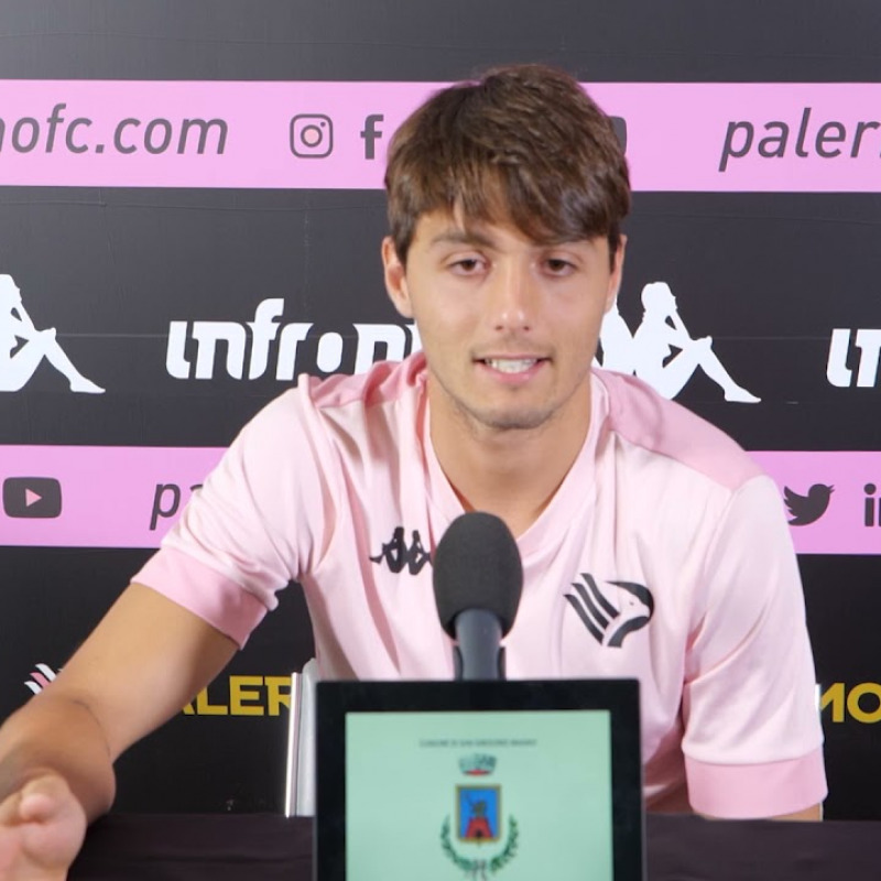 Summer training 2021: Edoardo Soleri press conference