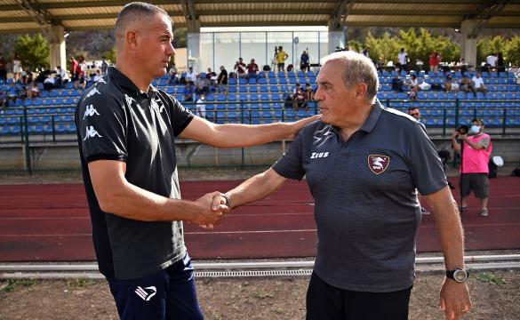Palermo-Salernitana: Mister Filippi nel post-partita