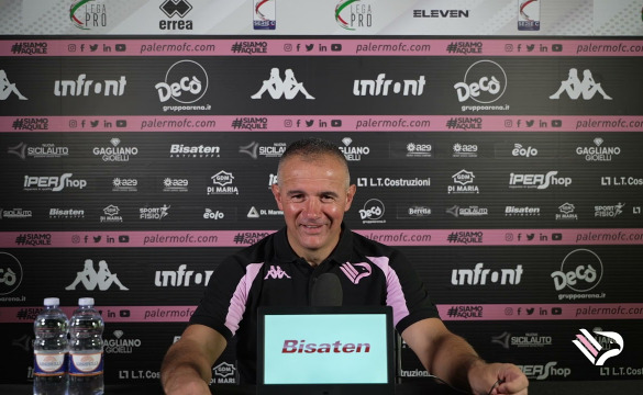Palermo-Monopoli: le interviste nel post-partita