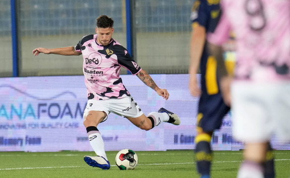 Juve Stabia-Palermo: mixed zone